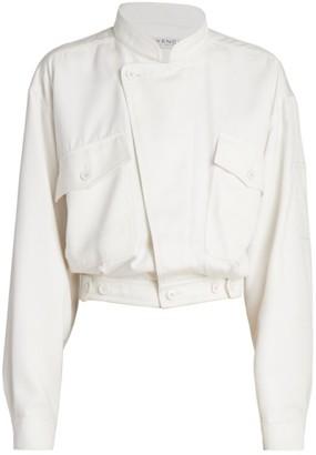 Givenchy Flap-Pocket Blouson Jacket
