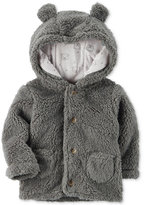 Carter's Hooded Faux-Sherpa Jacket, Baby Boys (0-24 months)