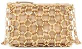 BY FAR Capria embellished shoulder bag