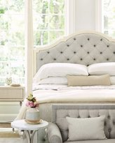 Bernhardt Natalie Queen Tufted Canopy Bed
