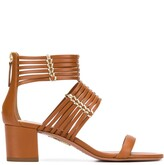 Aquazzura Ravello 50mm strappy sandals