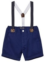 Mayoral Navy Smart Shorts with Belt