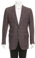 Tom Ford Wool Patterned Blazer