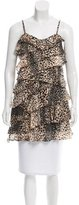 Rachel Zoe Sleeveless Printed Top