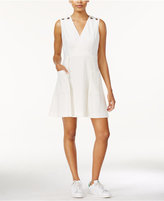Rachel Roy Grommet-Detail A-Line Dress, Only at Macy's
