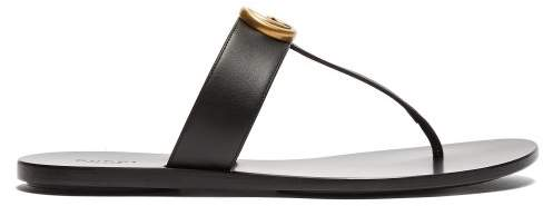b58138d7baf4 Gucci Gg Marmont Sandal - ShopStyle