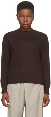 LOULOU STUDIO Brown Wool Cavallo Sweater