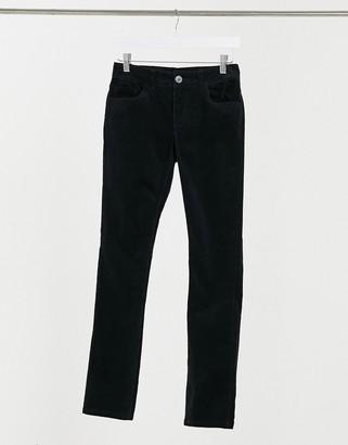 JDY Era skinny cord trouser in black