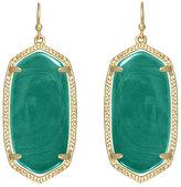 Kendra Scott Elle Earrings, Green Onyx