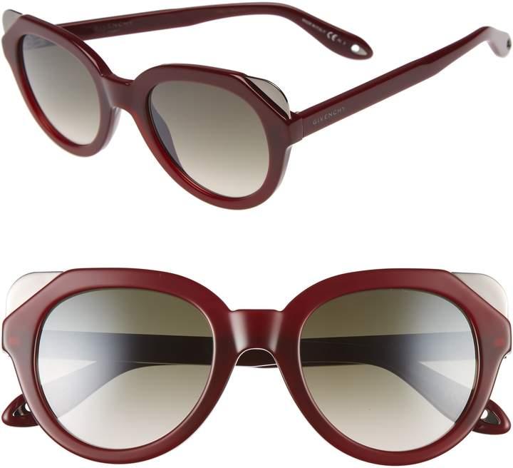 Givenchy 50mm Retro Sunglasses