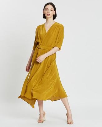 Ginger & Smart Whisper Wrap Dress