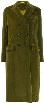 Massimo Alba textured double-breasted coat