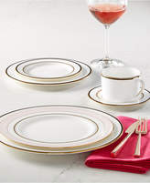 Kate Spade Library Lane Black Collection 5-Piece Place Setting