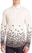 Versace Stars Button-Front Sportshirt
