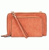 Joy Accessories Mini Convertible Zip Wallet