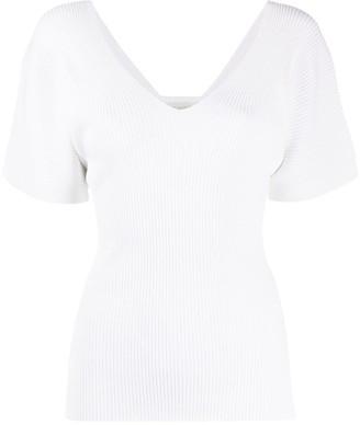 Zanone v-neck T-shirt