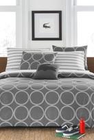 Lacoste Curling Comforter Set - Gray
