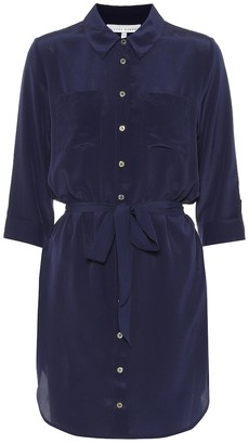 Heidi Klein Salina silk shirt dress