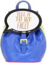 Sophia Webster Tell It To My Face! Leather Backpack