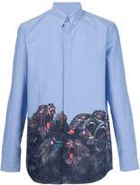 Givenchy baboon print shirt