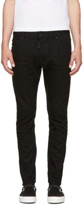 DSQUARED2 Black Sexy Twist Jeans
