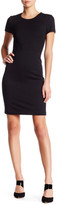 HUGO BOSS Harleth Quilted Sheath Dress