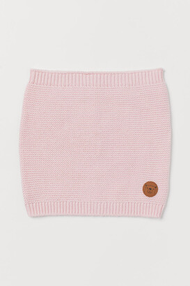 H&M Cotton Tube Scarf - Pink
