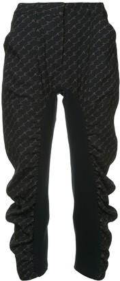 Stella McCartney Tina monogram trousers