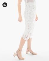 Chico's Lace Midi Skirt