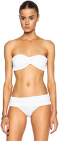 Norma Kamali Johnny D Bra Bikini Poly Top