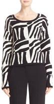 Max Mara Women's Geremia Graphic Silk & Cashmere Sweater