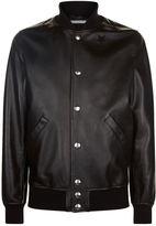 Givenchy Leather Stars Bomber Jacket