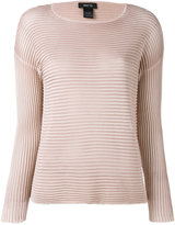Avant Toi ribbed knit jumper - women - Silk - S