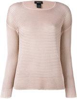 Avant Toi ribbed knit jumper