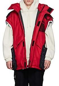 Vetements Men's Convertible Oversized Parka/Duffel Bag - Red