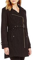 MICHAEL Michael Kors Mid Wool Trench Coat