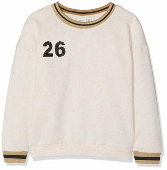 Name It Girl's Nkfkossa Ls Unb Sweat Sweatshirt