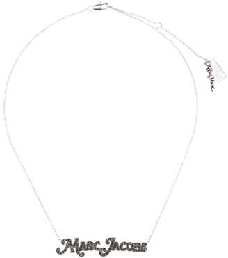 Marc Jacobs The Nameplate logo necklace