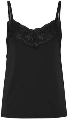 Ichi Like Top in Black - xs | black - Black/Black