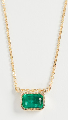 Jennie Kwon Designs 14k Emerald Lexie Necklace