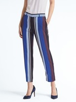 Banana Republic Avery-Fit Stripe Pant