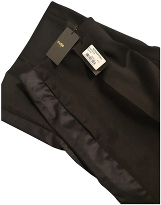 Maje Black Cloth Trousers for Women