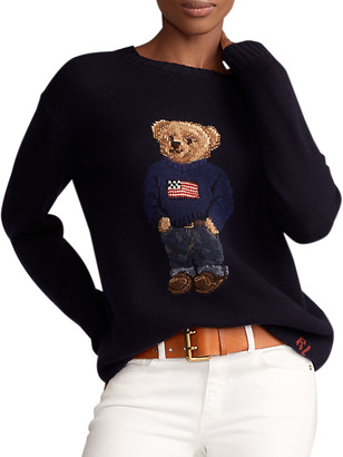 Ralph Lauren Collection Polo Bear Cashmere Sweater