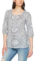 Fat Face Women's Jenny Linear Batik Blouse,6