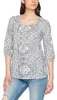 Fat Face Women's Jenny Linear Batik Blouse