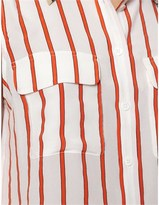 Equipment Red Striped Signature Shirt