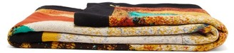 Saved Ny - Specimen Diamond Cashmere Blanket - Multi