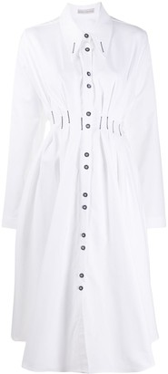 Palmer Harding Long-Sleeve Midi Shirt Dress