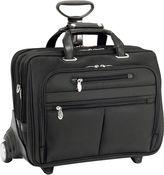 McKlein McKleinUSA Ohare 15.6 Nylon Fly-Through Checkpoint-Friendly Detachable Wheeled Laptop Briefcase