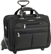 McKlein Ohare 17 Nylon Detachable Wheeled Laptop Case